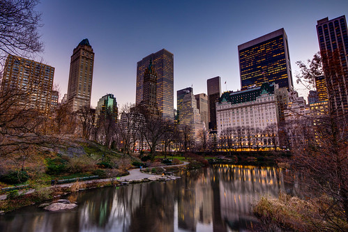 The Beginnings Of Winter In Central Park | by Definitive HDR Photography