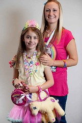 My daughter and I at UK PonyCon 2012