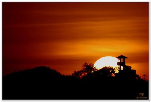 morning sunset sunrise canon pune amit canonrebelxs vetaltekdi dhongde canoneos1000d