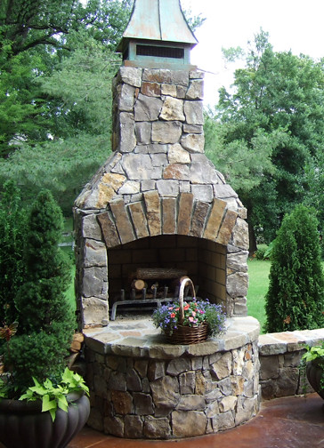 Outdoor Fireplace Hedberg Landscape And Masonry Supplies
