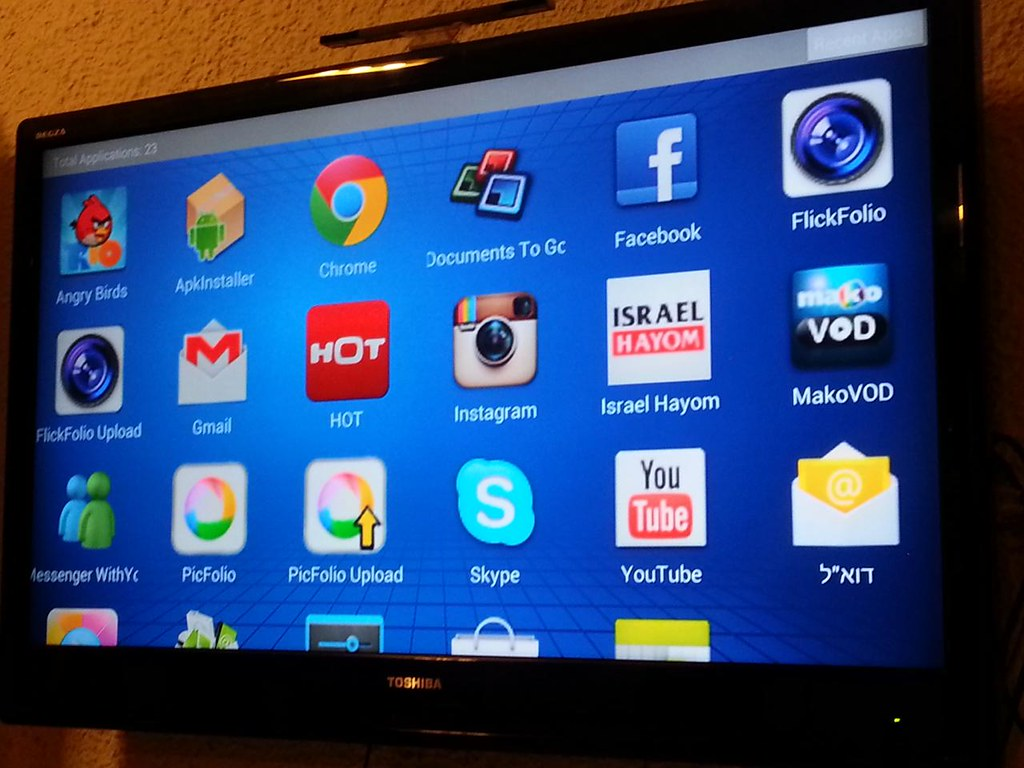 Android apps with Akai Smart TV dongle | Tha Akai Smart TV d