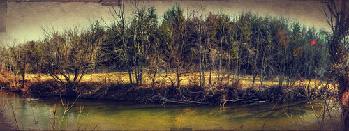 trees panorama sun texture water river pano canoneos60d