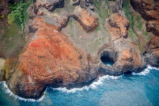 Na Pali Coast, Kauai, by helicopter | by Morris Hersko