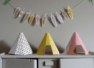 feather and teepee printable | by Our Designed Life