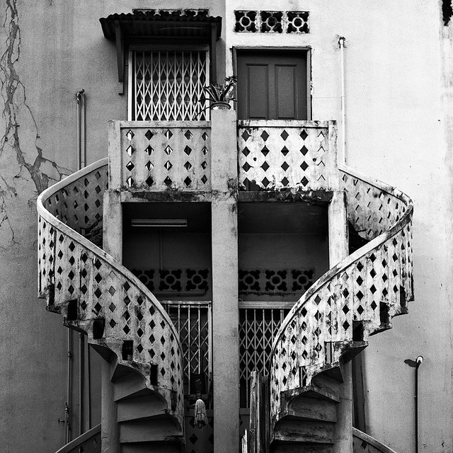 Spiral Staircases, Joo Chiat, 2012
