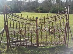 lady Monica's gates