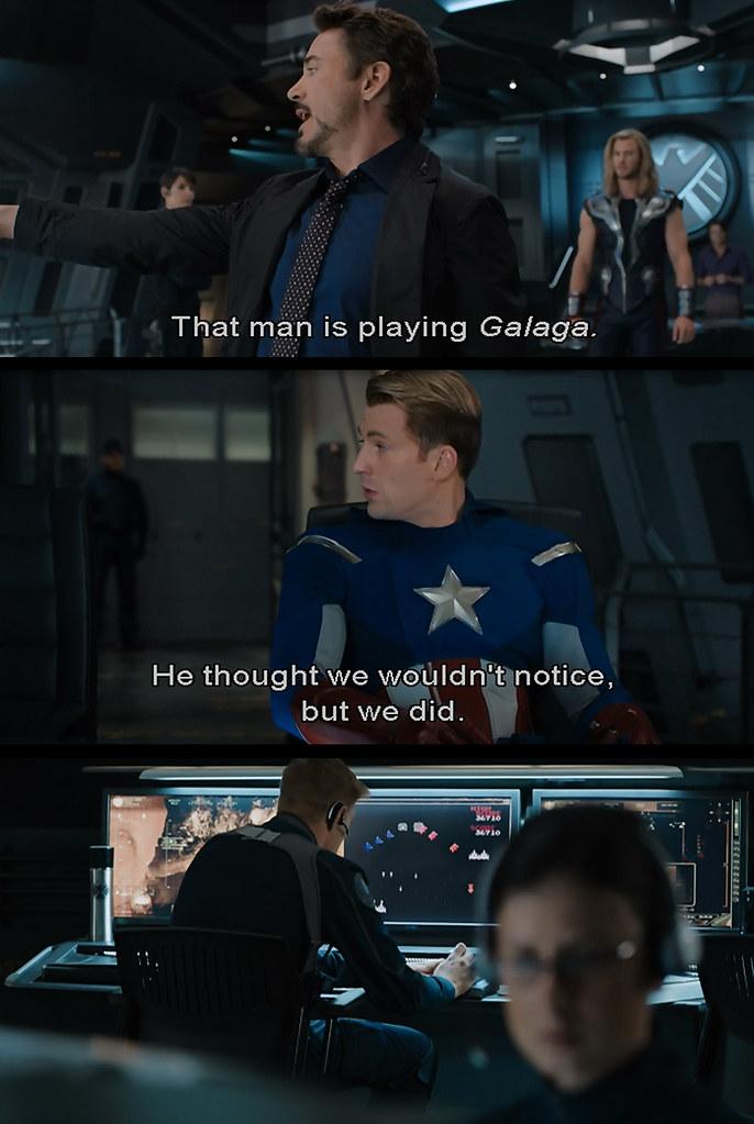 Avengers Galaga