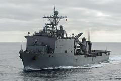 USS Comstock (LSD 45) file photo. (U.S. Navy/MCSN Devin M. Langer)