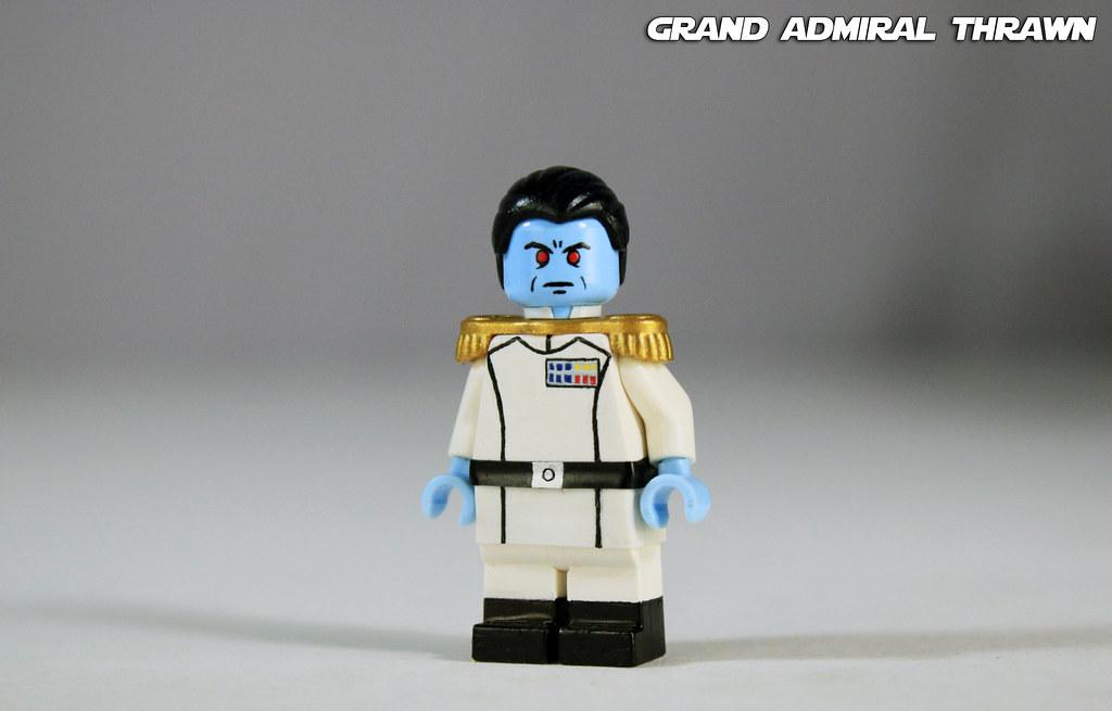 Admiral Thrawn CUSTOM Star Wars™® aus LEGO®