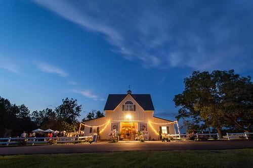 Flora Corner Farm, Mechanicsville, wedding reception