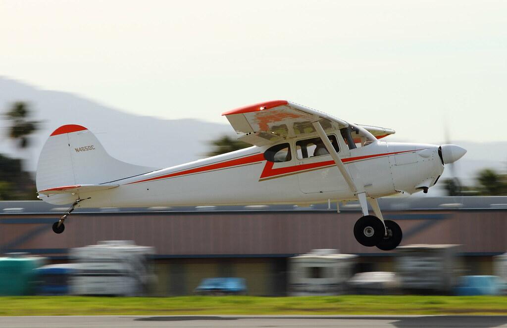 Cessna 170 Interior