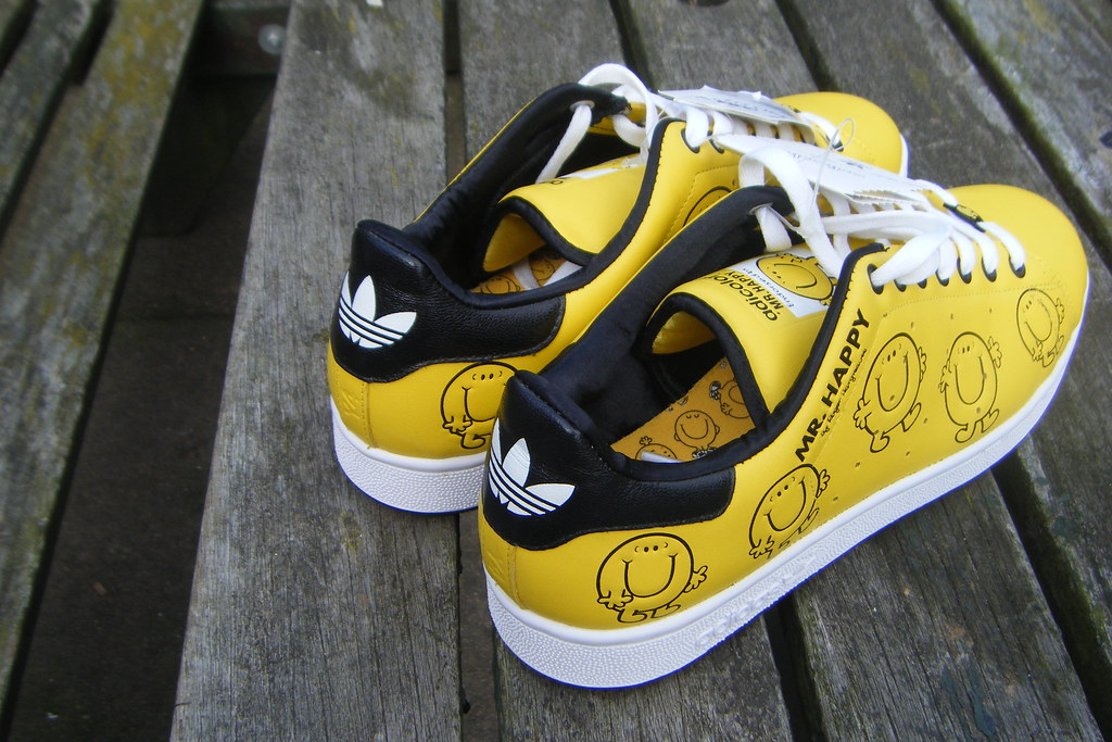 save off 9cae8 9b0b8 Adidas Adicolor Mr Happy Stan Smith Y4 Trainers | mugen-type ...