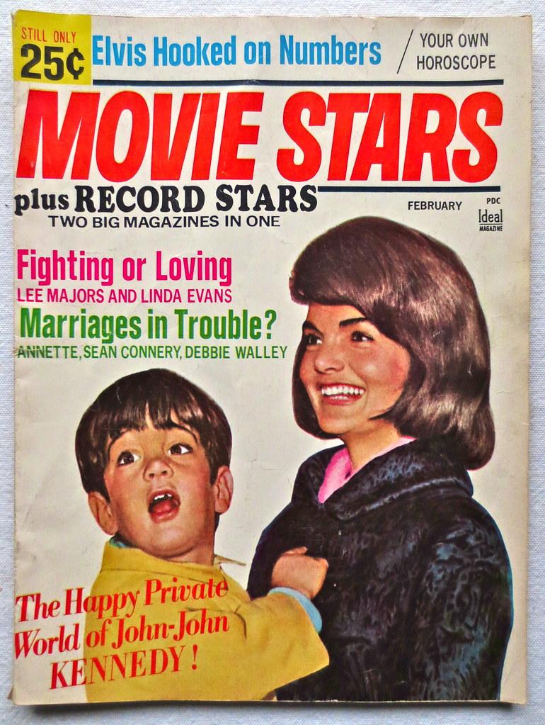 Vintage 1960s MOVIE STARS Magazine JACKIE KENNEDY ONASSIS … | Flickr