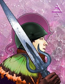 Knight of Swords | by juliatenney