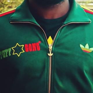 mariposa golondrina tribu  The Mythical Adidas Originals Bob Marley Tuff Gong Track T… | Flickr