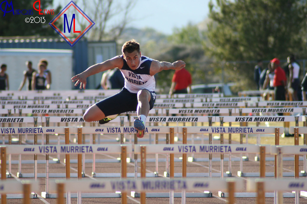 Jacob Lopez | A Vista Murrieta hurdler takes first place in