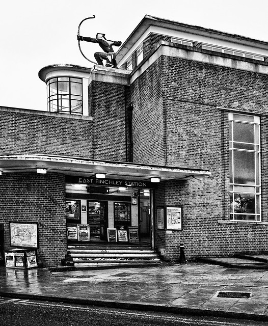 East Finchley station Art Deco