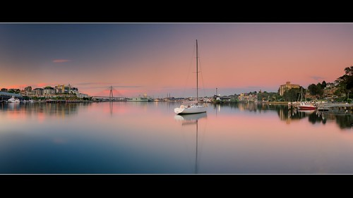 panorama sunrise bay pano gerry johnstons