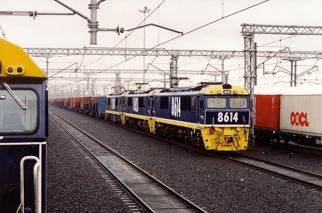 Freight Corp Cotton Train. (scan) by Robert Cook