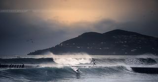 [ Explore ] A Sunset day for surfers, Mandelieu La Napoule ~ Alpes-Maritimes / France ~