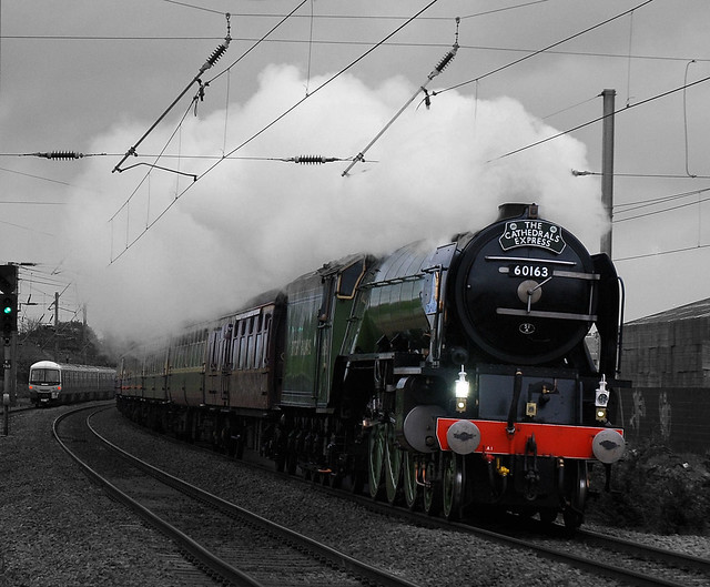 Tornado Through Biggleswade: BACK OUR BRITISH RAILWAY HERITAGE