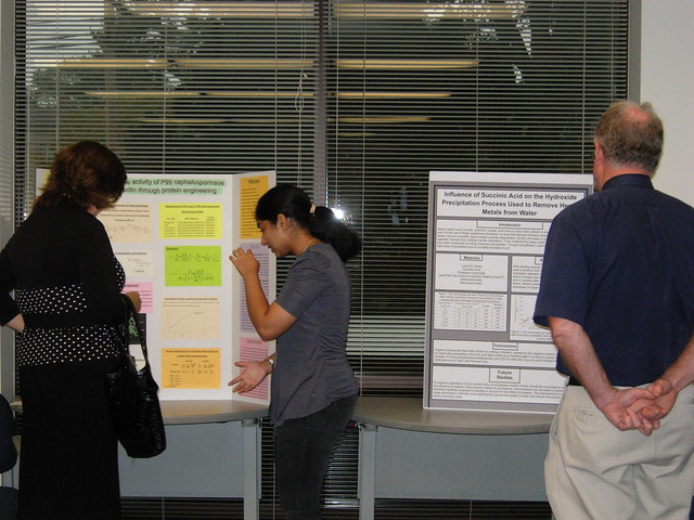 Summer Science Research Program Poster Session 2012