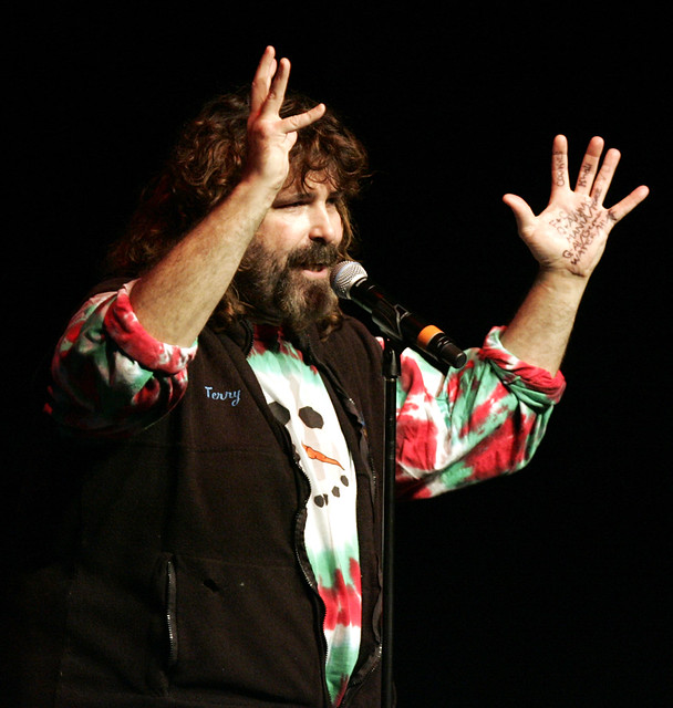Mick Foley from Flickr via Wylio