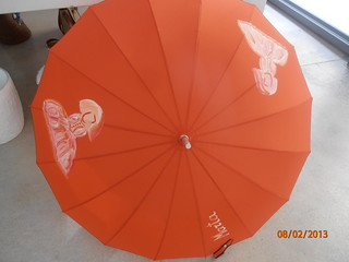 Personalizamos tu paraguas.