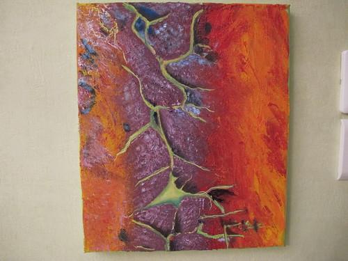 ecorce d arbre 1 | Les peintures de Dany | Flickr