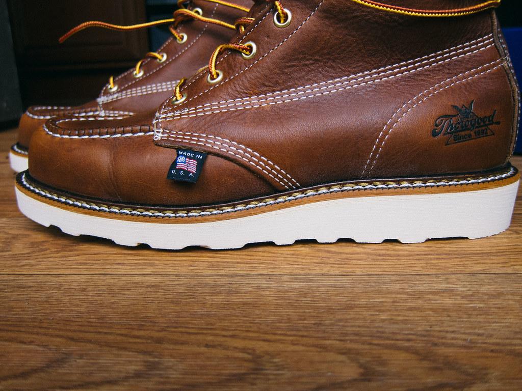 2a6f0004aa4 Thorogood-8-Moc-Toe-Boots-6 | Sherman Lee | Flickr