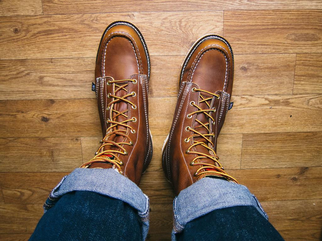 ce5708e47e4 Thorogood-8-Moc-Toe-Boots-3 | Sherman Lee | Flickr