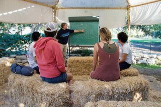 The student-conceived and student-built Organic Farm officially became a part of Pomona College in 2006.
