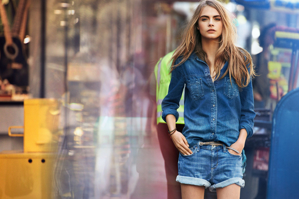 Cara Delevingne for DKNY Jeans Spring 2013 Ad Campaign-001