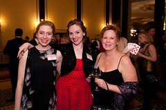 Mon, 2013-03-25 18:43 - Our lovely raffle ladies Christine Perkins, Justine Turner, and Sharon Burch. Photo by Johnny Knight