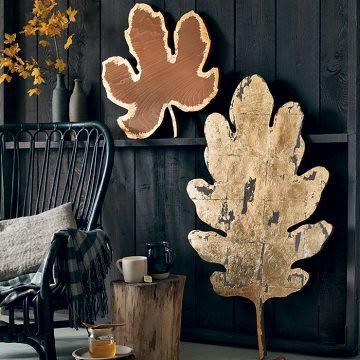 Large Wooden Leaf Cutout Marieclaireideescom Heath Ashli Flickr