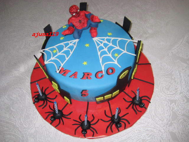 Spiderman Torte Spiderman Cake Ajusa119 Flickr