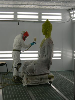 "Toxic ""New Kadampa"" plastic sculpture 1"