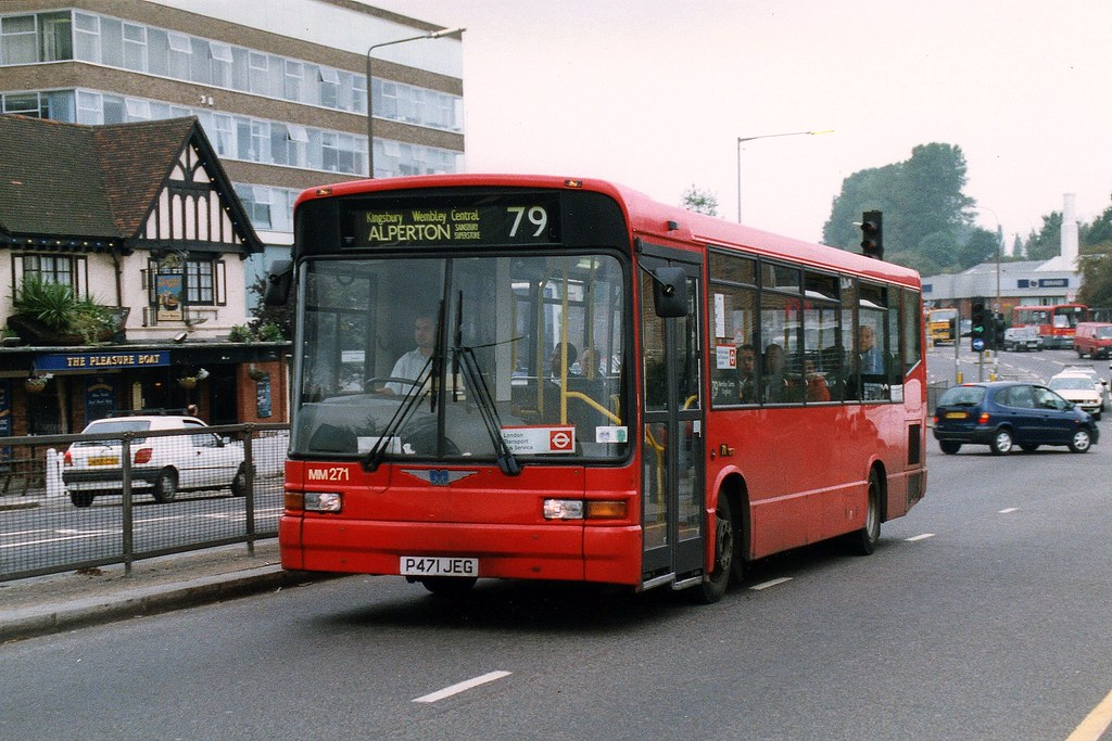 Mtl London Northern Man 11 220 Marshall Mm271 P471jeg Pass