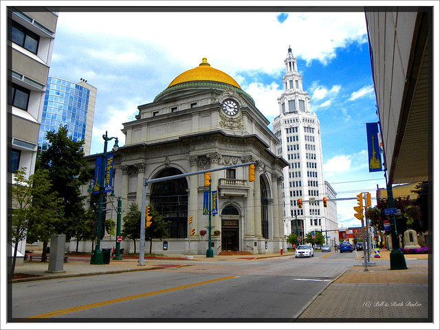 Buffalo NY ~ Buffalo Savings Bank ~ Electric Tower or General Electric Tower ~ Historical