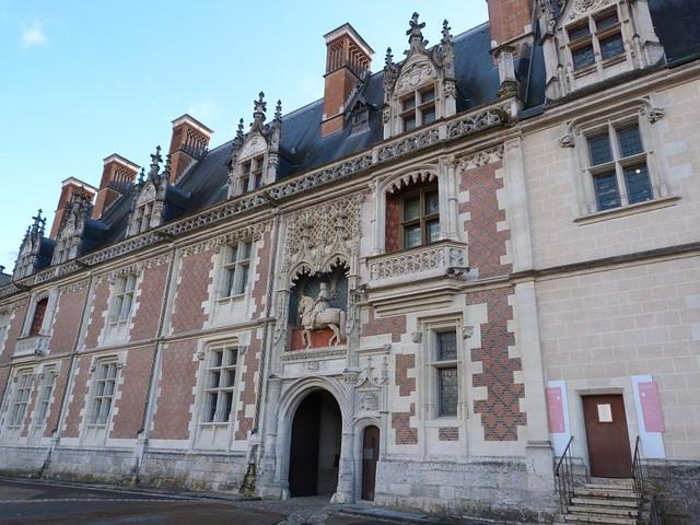 Castillo de Blois en el Valle del Loira (Francia)