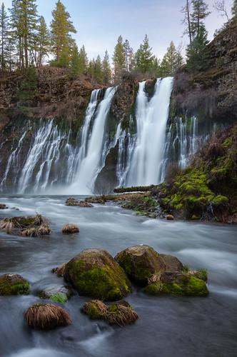 sunset river landscape waterfall basalt mcarthurburneyfalls
