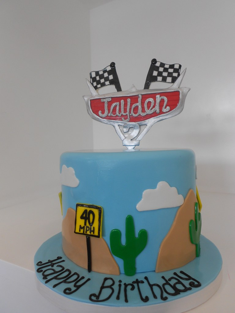 Astounding Disney Cars Birthday Cake 1722 Asweetdesign Info 818 Flickr Funny Birthday Cards Online Alyptdamsfinfo