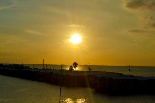 sunset sky lake neworleans pontchartrain lakepontchartrain d3100