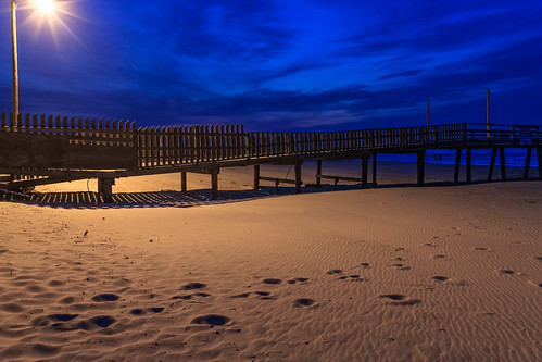 blue sky texture clouds landscape dawn pier nc sand northcarolina oceana atlanticbeach