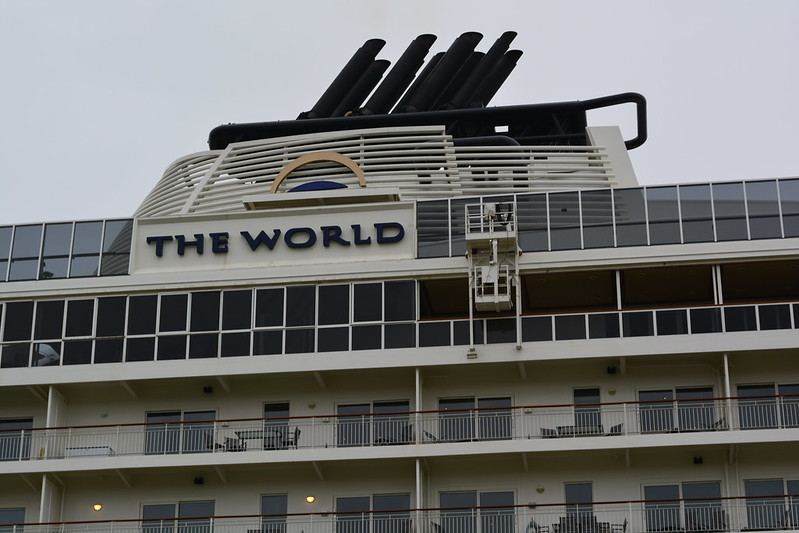 The World Cruise ship - Bordeaux - 26 avril 2013