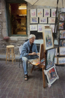 Painter in the ally | by ronphoto2009