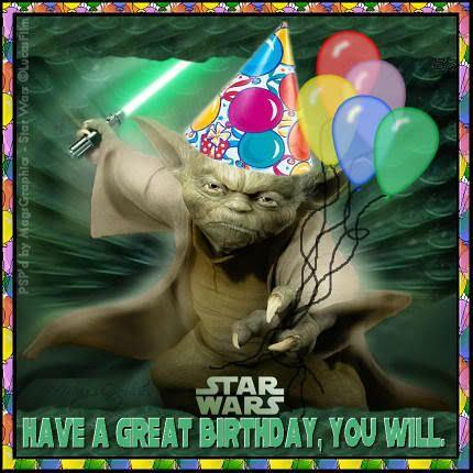 Birthday Quotes : happy birthday son star wars card | If y ...