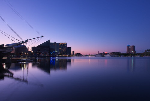 baltimore innerharbor bluehour dawn twilight