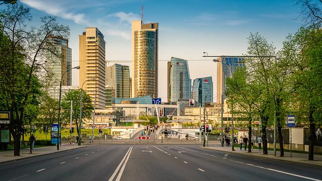 Golden hour :: Business District Vilnius II