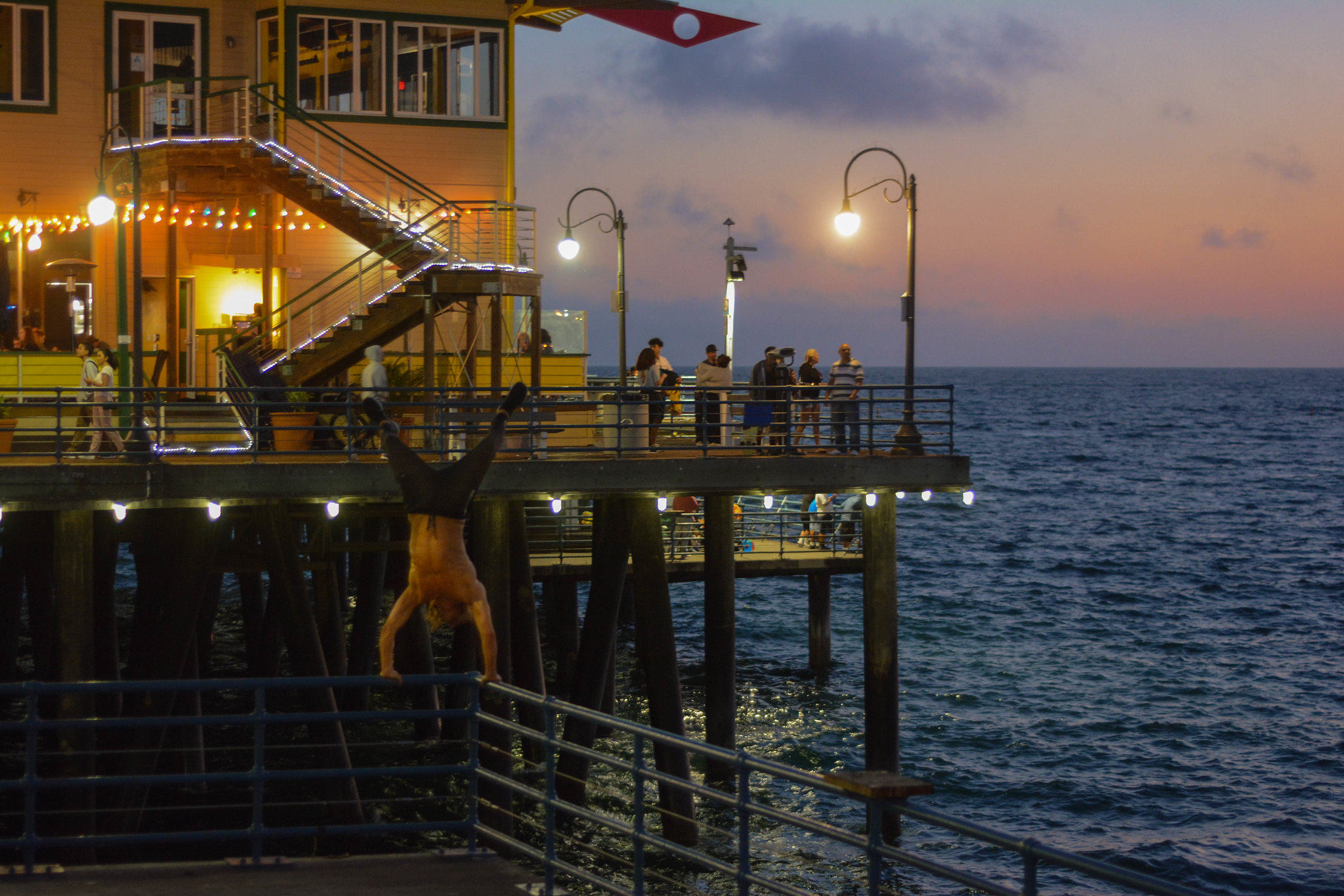 Handstand on The Pier!